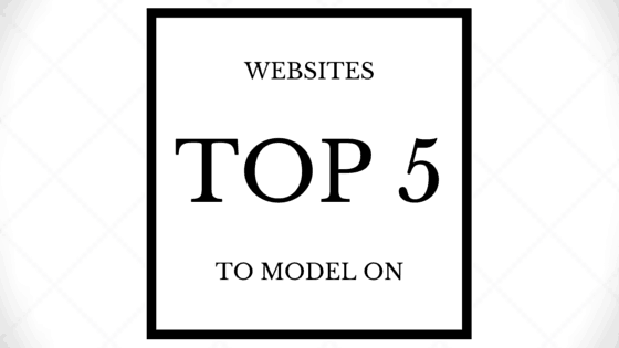 TOP SITES TO MODEL ON